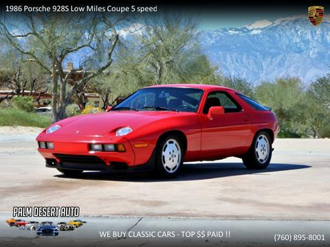 1986 Porsche 928 for sale in Palm Desert, CA