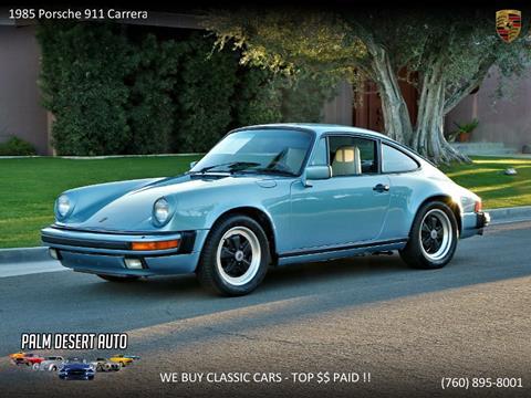 1985 Porsche 911 for sale in Palm Desert, CA