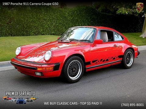 1987 Porsche 911 for sale in Palm Desert, CA