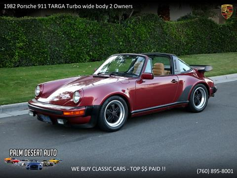1982 Porsche 911 for sale in Palm Desert, CA