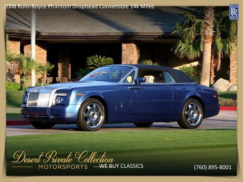 2008 Rolls-Royce Phantom Drophead Coupe for sale in Palm Desert, CA