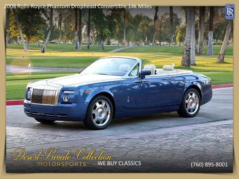 2008 Rolls-Royce Phantom Drophead Coupe for sale in Palm Desert, CA