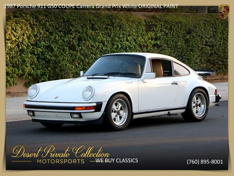 1987 Porsche 911 for sale in Palm Desert, CA