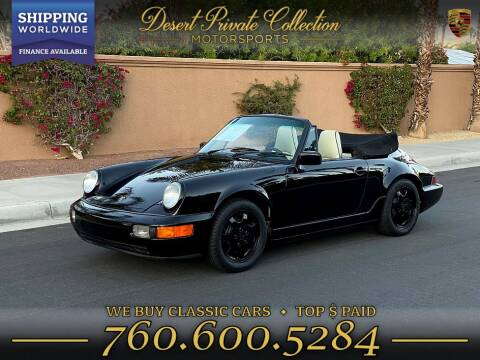1990 Porsche 911 For Sale In Palm Desert Ca