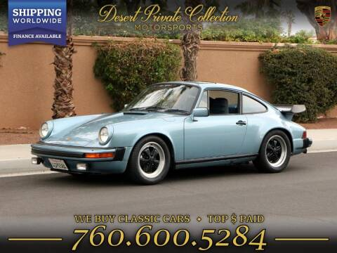 1982 Porsche 911 for sale in Palm Desert, CA