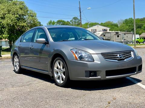 2007 Nissan Maxima for sale at Supreme Auto Sales in Chesapeake VA