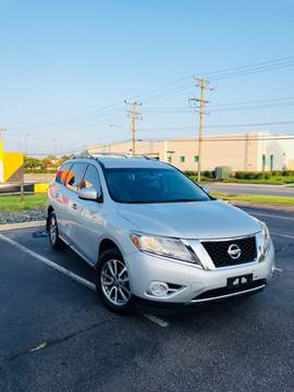 2013 Nissan Pathfinder for sale at Supreme Auto Sales in Chesapeake VA
