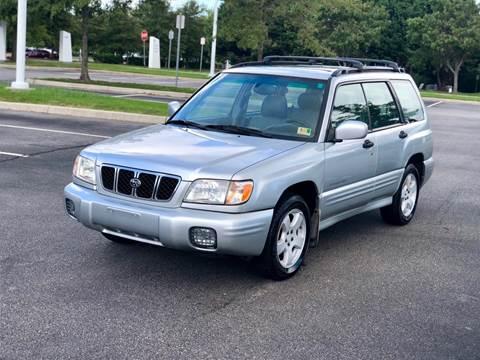 2002 Subaru Forester for sale at Supreme Auto Sales in Chesapeake VA