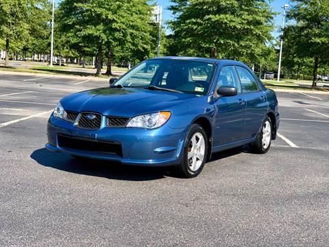2007 Subaru Impreza for sale at Supreme Auto Sales in Chesapeake VA