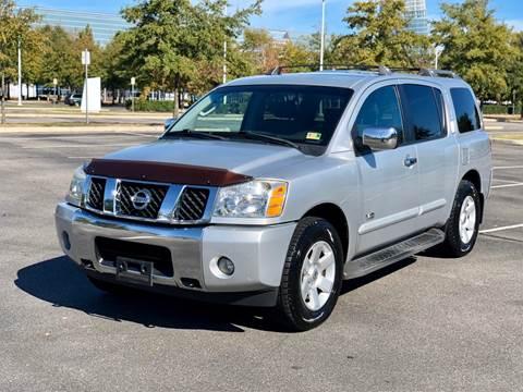 2006 Nissan Armada for sale at Supreme Auto Sales in Chesapeake VA