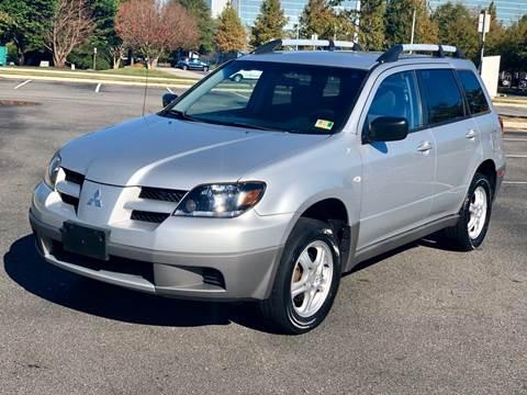 2003 Mitsubishi Outlander for sale at Supreme Auto Sales in Chesapeake VA