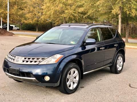 2007 Nissan Murano for sale at Supreme Auto Sales in Chesapeake VA