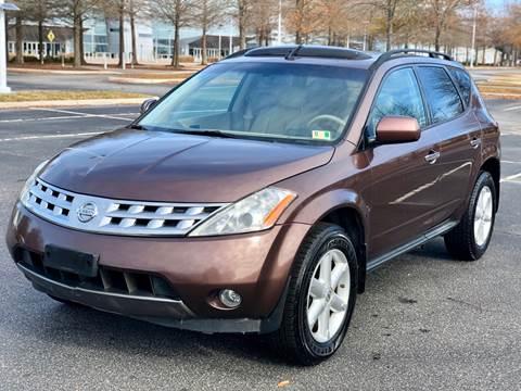2004 Nissan Murano for sale at Supreme Auto Sales in Chesapeake VA