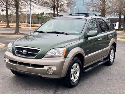 2005 Kia Sorento for sale at Supreme Auto Sales in Chesapeake VA