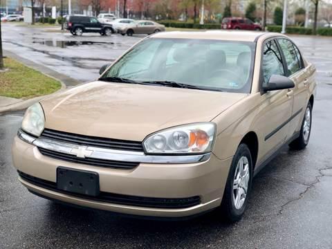 2004 Chevrolet Malibu for sale at Supreme Auto Sales in Chesapeake VA