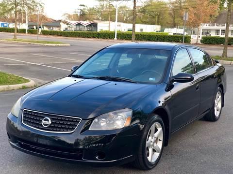 2005 Nissan Altima for sale at Supreme Auto Sales in Chesapeake VA