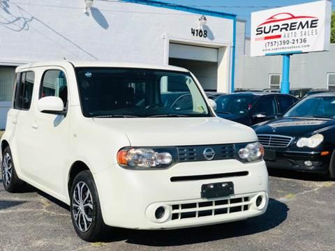 2010 Nissan cube for sale at Supreme Auto Sales in Chesapeake VA