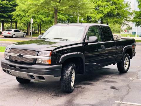 2004 Chevrolet Silverado 1500 for sale at Supreme Auto Sales in Chesapeake VA