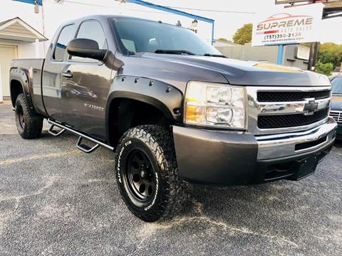 2010 Chevrolet Silverado 1500 for sale at Supreme Auto Sales in Chesapeake VA