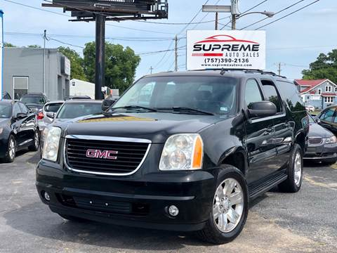 2007 GMC Yukon XL for sale at Supreme Auto Sales in Chesapeake VA