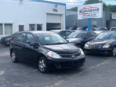2007 Nissan Versa for sale at Supreme Auto Sales in Chesapeake VA