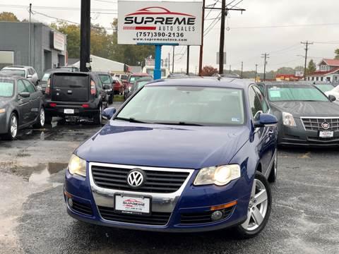 2009 Volkswagen Passat for sale in Chesapeake, VA