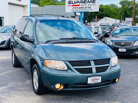 2007 Dodge Grand Caravan for sale at Supreme Auto Sales in Chesapeake VA