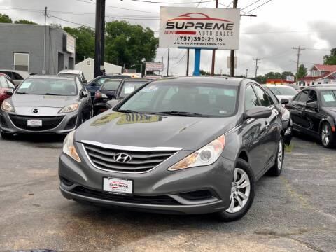 2011 Hyundai Sonata for sale at Supreme Auto Sales in Chesapeake VA