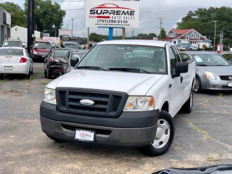 2008 Ford F-150 for sale at Supreme Auto Sales in Chesapeake VA