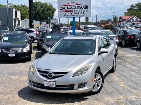 2009 Mazda MAZDA6 for sale at Supreme Auto Sales in Chesapeake VA