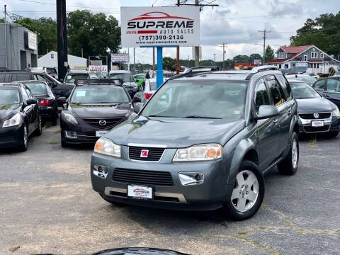 2007 Saturn Vue for sale at Supreme Auto Sales in Chesapeake VA