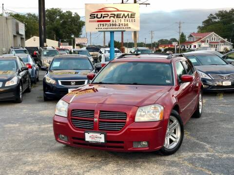 2005 Dodge Magnum for sale at Supreme Auto Sales in Chesapeake VA