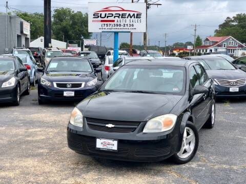 2006 Chevrolet Cobalt for sale at Supreme Auto Sales in Chesapeake VA