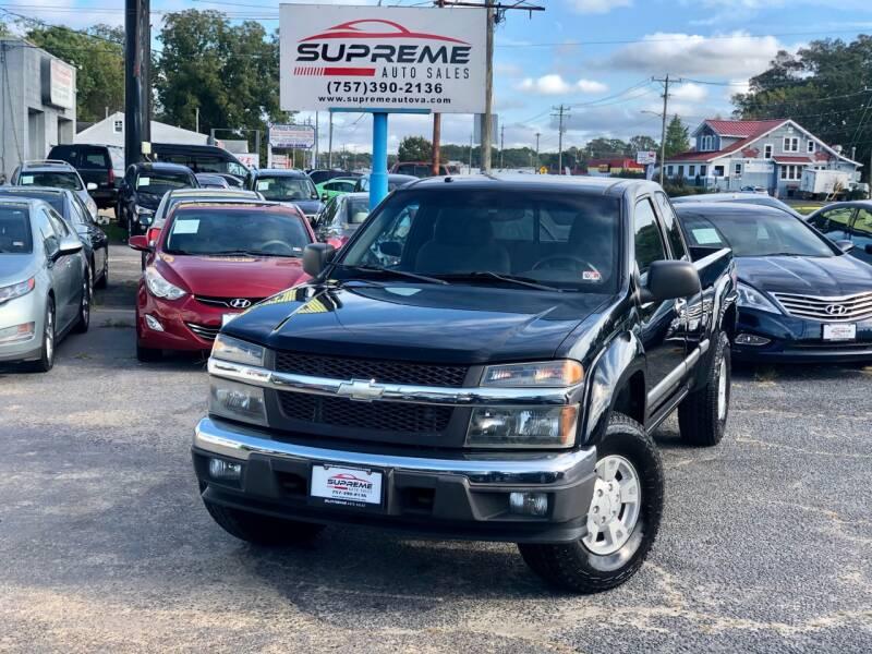 2006 Chevrolet Colorado for sale at Supreme Auto Sales in Chesapeake VA