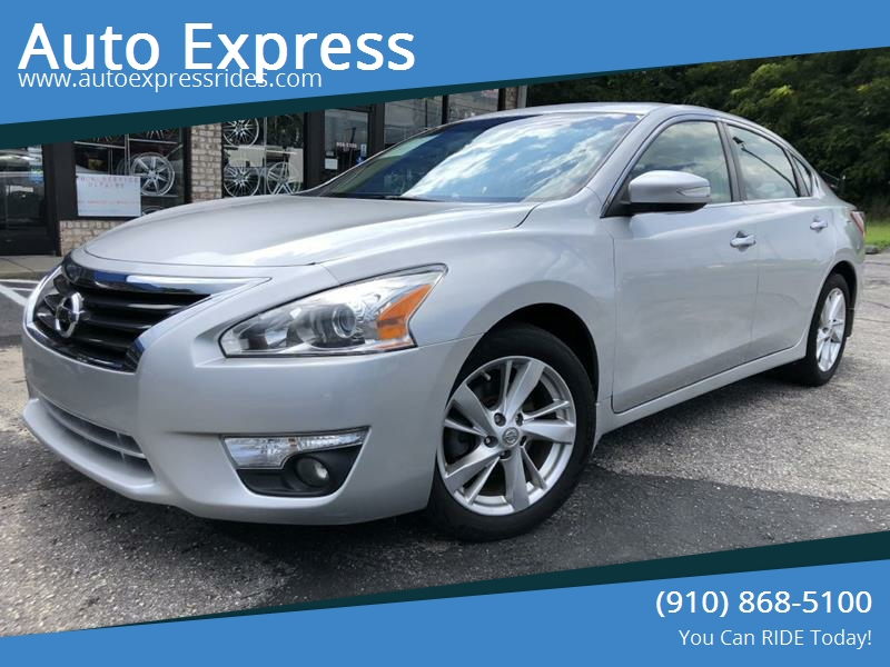 2013 Nissan Altima For Sale At Auto Express In Fayetteville NC