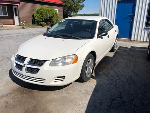 2004 Dodge Stratus for sale at Alex Bay Rental Car and Truck Sales in Alexandria Bay NY