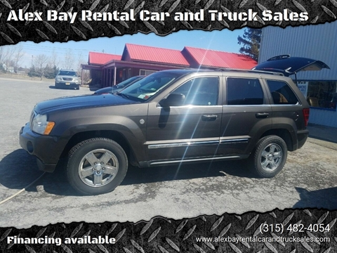 2005 Jeep Grand Cherokee for sale at Alex Bay Rental Car and Truck Sales in Alexandria Bay NY