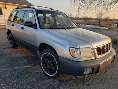 2002 Subaru Forester for sale at Alex Bay Rental Car and Truck Sales in Alexandria Bay NY