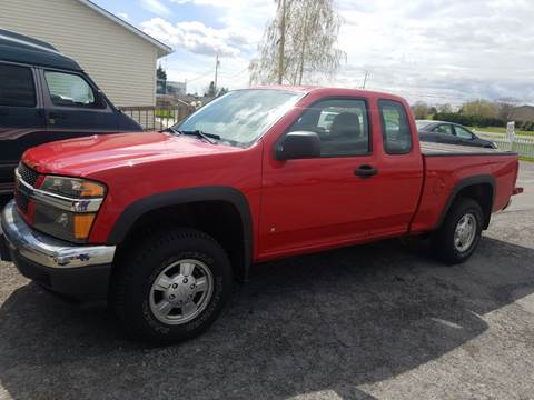 2007 Chevrolet Colorado for sale at Alex Bay Rental Car and Truck Sales in Alexandria Bay NY