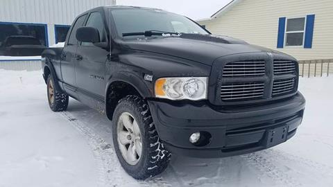 2004 Dodge Ram Pickup 1500 for sale at Alex Bay Rental Car and Truck Sales in Alexandria Bay NY