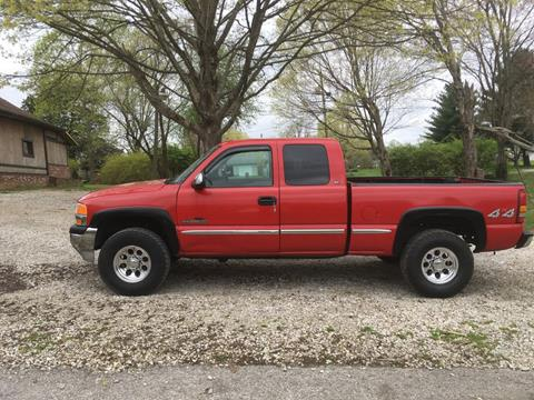1999 GMC Sierra 2500 for sale in New Salisbury, IN
