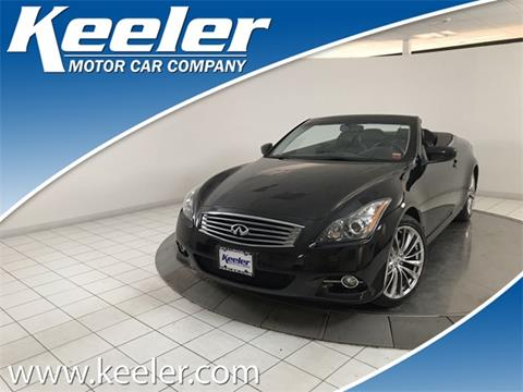 2013 Infiniti G37 Convertible for sale in Latham, NY