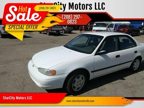 2001 Chevrolet Prizm for sale in Garden City, ID