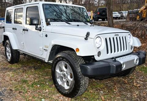 2015 Jeep Wrangler Unlimited for sale in Beacon, NY