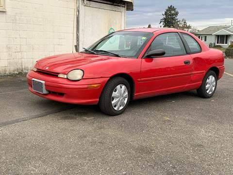1998 Dodge Neon for sale in Lakewood, WA