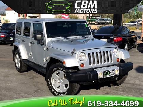 2012 Jeep Wrangler Unlimited for sale in El Cajon, CA