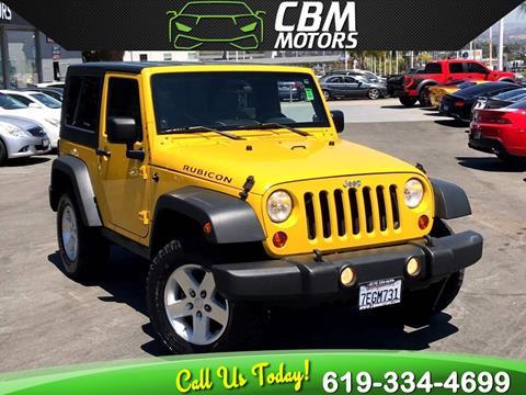 2009 Jeep Wrangler for sale in El Cajon, CA