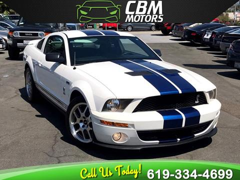 2009 Ford Shelby GT500 for sale in El Cajon, CA