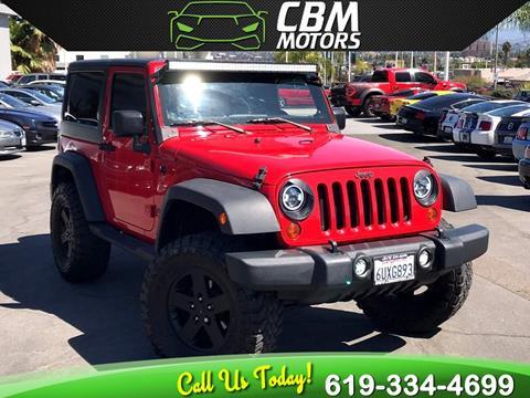 2011 Jeep Wrangler for sale in El Cajon, CA