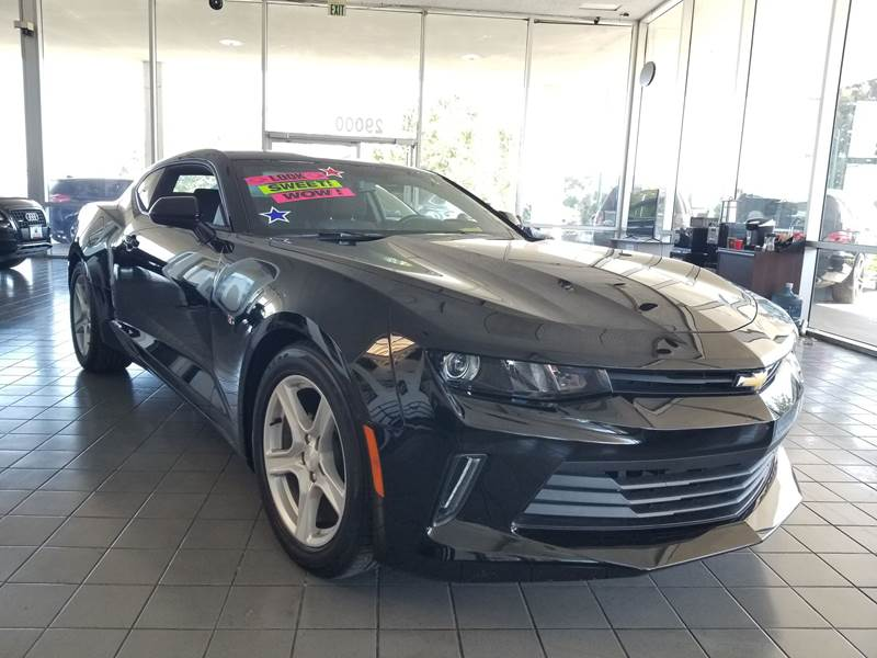 2018 CHEVROLET CAMARO LT 2DR COUPE W1LT gray need financing we can help call now call today
